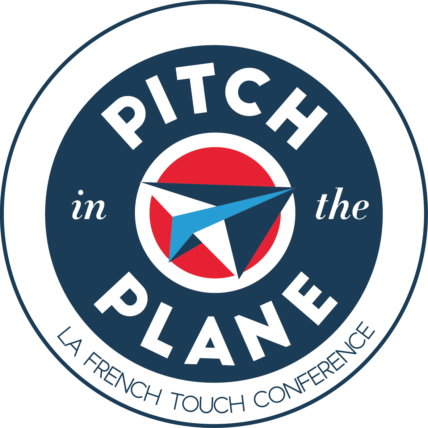 pitch in the plane logo